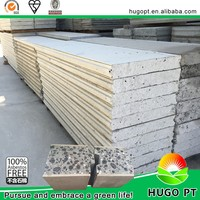 high quality lightweight building material 75mm thickness EPS cement sandwich panel in UAE to build the house