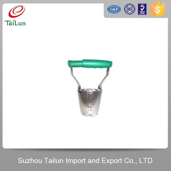 High Quality Electroplated Iron Garden Tobacco Transplanter With Plastic Handle
