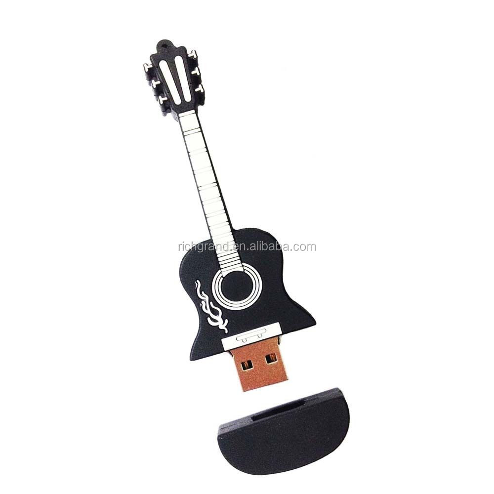 New Guitar model 8GB USB 2.0 Flash Memory Stick Pen Drive Thumb U Disk Storage