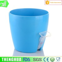 various size! plastic pots for plants bright color flower pot garden pots