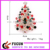 cheap artificial colorful lighting christmas trees brooch pins for clothing decoration