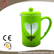 2016 tea kettle fruit infusion tea with french press 1000ml tea pot