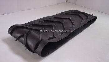 factory direct sell auto feeding rubber conveyor belt for Wirtgen W2000 P/N 112781