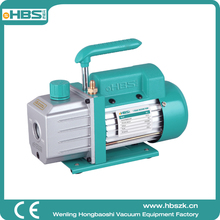 China HBS single stage hand vacuum pump with pressure gauge RS-1.5