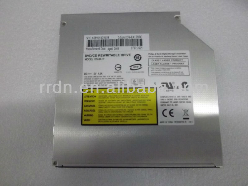 DS-8A1P Internal DVDRW drive for PC for laptops