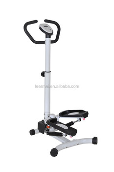 exercise stepper with handbar