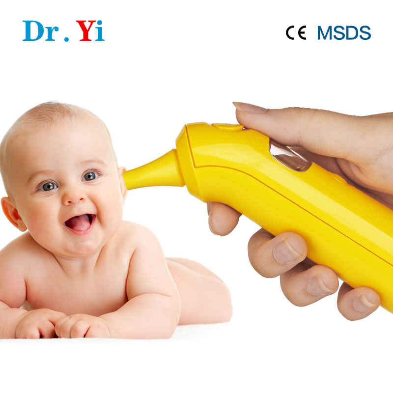 USB Charge Medical/Household Digital LCD Infrared Ear Thermometer Baby Thermometer