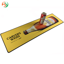 (AY) 이 Custom Logo Promotion 맥주 Barmat Personalized Neoprene 고무 바 러너 (blade runner) 음료 Counter Mat 와 승화 Printing
