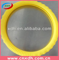 Heat resistant silicone car steering wheel cover