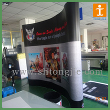Oval Pop Up Stand/ PVC Pop Up stand Exhibition Banner
