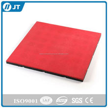 Slip resistance Recycled brick surface rubber tile mat for outdoor