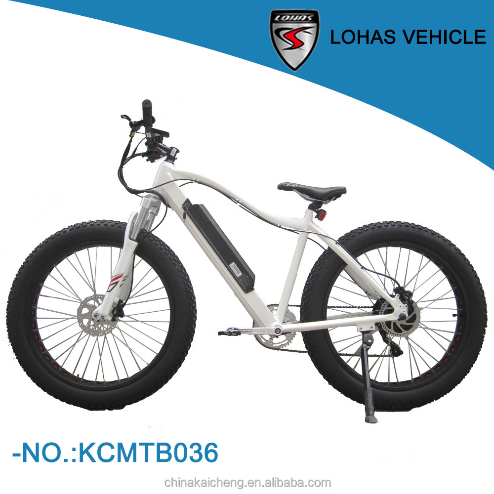 36v/48v CE certificate super fashion outer 7 speed 26'' fat tire ourdoor sport electric bike