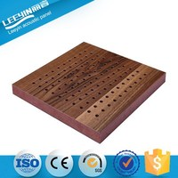 China Wooden Acoustical Panel Decorative Modern Home Sound System