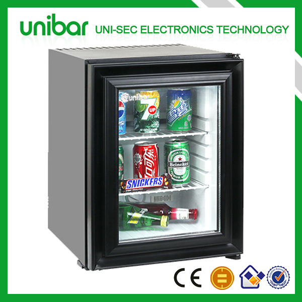 Bar refrigerator with ice maker,hotel mini bar refrigerator ,small refrigerator (USF-30N)