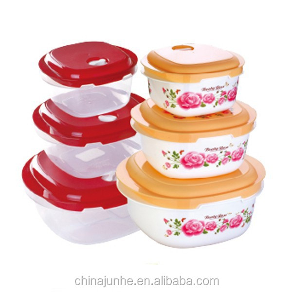 For household plastic container pp storage box