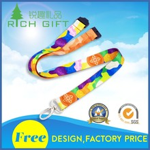 No MOQ polyester mobile phones/brand logo lanyards with competitive price in China