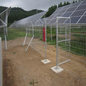 Solar Power Fencing with Concrete Electric Fence Wire