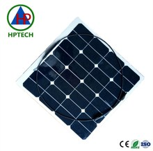 Haopai New Energy 50w High Efficience solar cell film flexible solar panel for Battery Charger