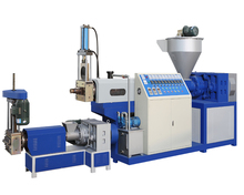 SJ-125/95 200kg/hr waste Recycle Plastic Granules Making Machine Price