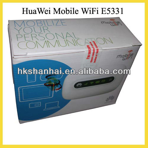 New Original Unlocked HUAWEI E5331 huawei 3g hotspot wifi routert Support 21Mbps for 5 Users