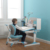 GMYD particle board healthy table with bookshelf kids ergonomic desk
