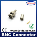 Good Quality JR bnc connector rg6 for cctv