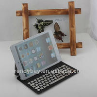 2013 new design bluetooth keyboard case for IPAD mini