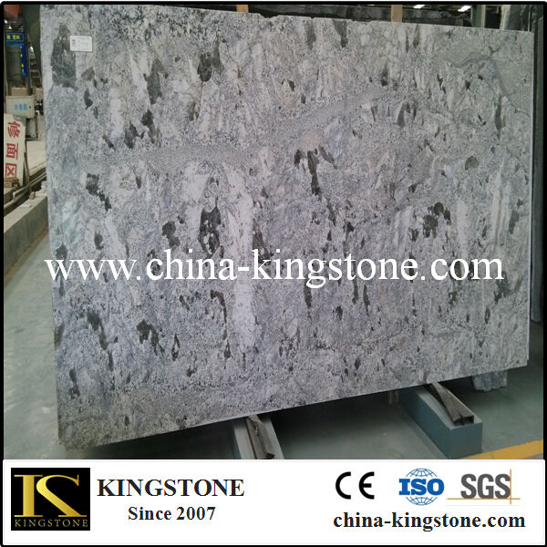 Brazilian Granite Polished Azul Aran Granite Slab Price