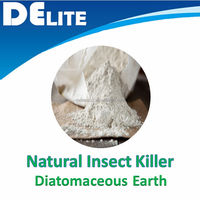 Effective kill bed bug by natural Diatomaceous Earth Powder, Organic and non-toxic Insecticides