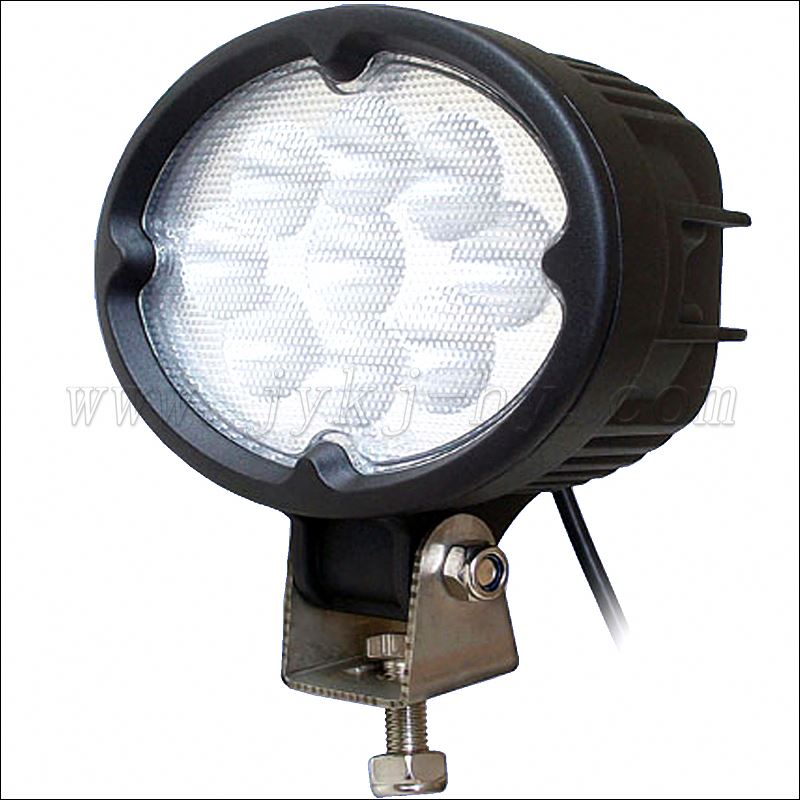 Hot Sale auto off road 6 inch 27w led work light, LED 12V / 24V 4WD Work Light Flood Lamp Truck