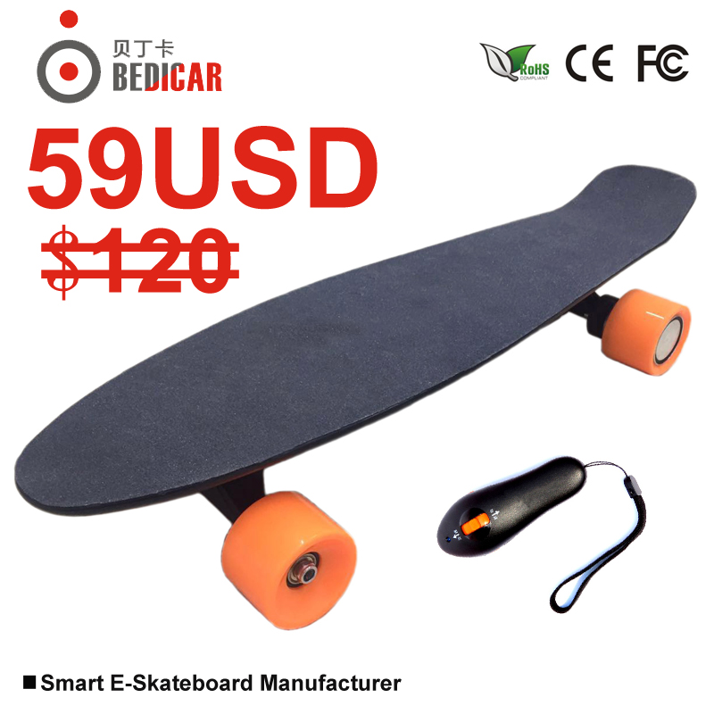 much lighter much thinner but ultra-long battery life Remote control electric skateboard remote 350W