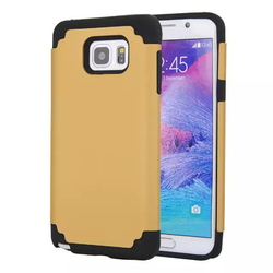 For iPhone 5 2 in 1 Shockproof Design Hybrid Durable Silicon +PC Phone Case Back Cover
