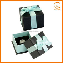 Gift box lid and base for ring