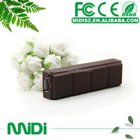 Trendy christmas gifts 2014, Chocolate design power bank, 2600 power bank