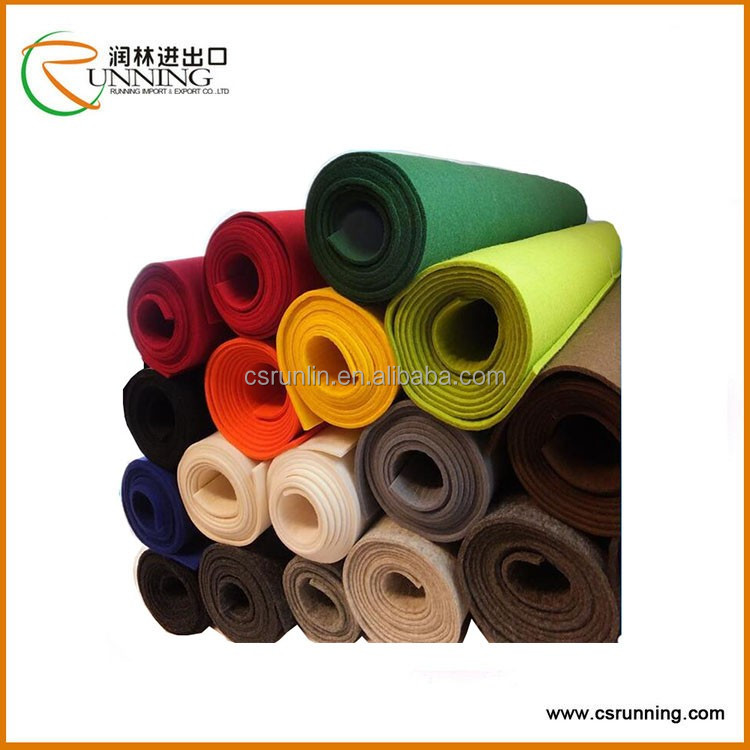 Polyester Needle Punched Felt,Nonwoven Fabric on Sale