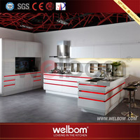 Made In China Lacquer New Cheap Kitchen Cabinet