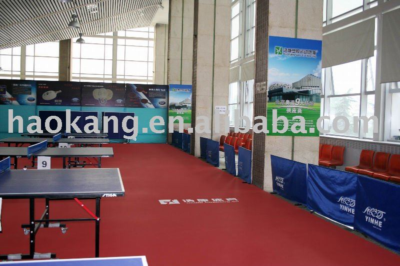 Table tennis floor