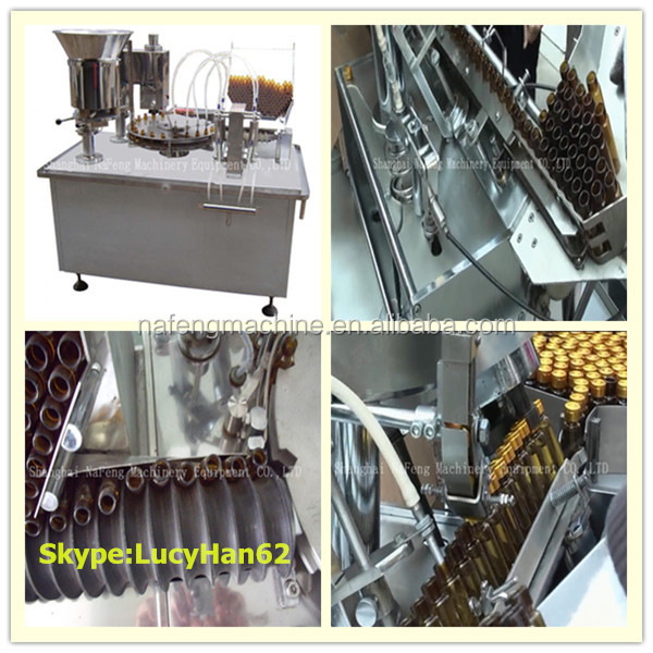 New Condition Chemical Commodity and Pharmaceutical Oral Vial Mixing Filling Machine