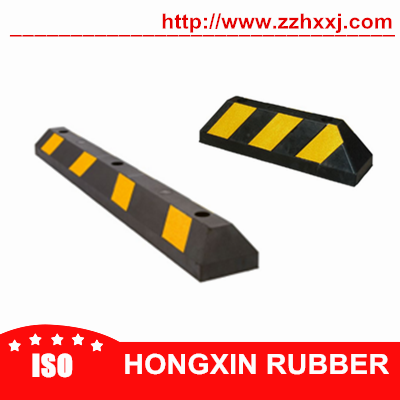 Car stopper rubber parking curbs