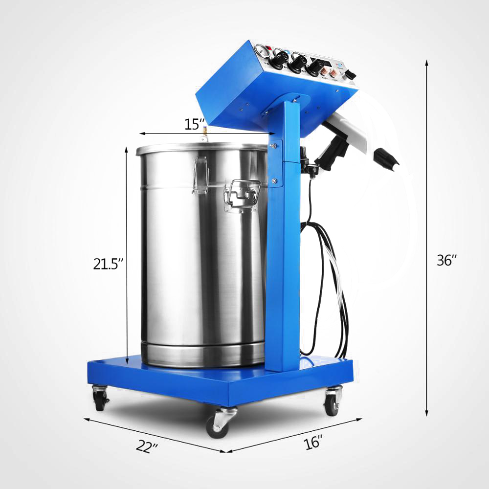 Spraying Gun Paint 450g/min WX-958 Powder Coating Machine