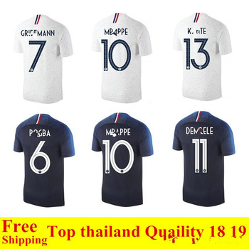 Football Jerseys 2018 National Team Top Thailand Quality France Soccer Jerseys