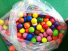 Promotional Colorful Mini Golf Balls Golf Practice training Balls with blister packing