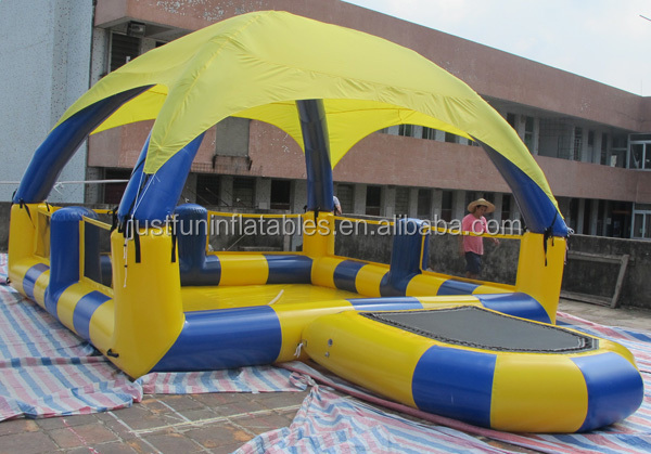 Cheap inflatable pool with tent cover hamster ball pool for Cheap inflatable pool