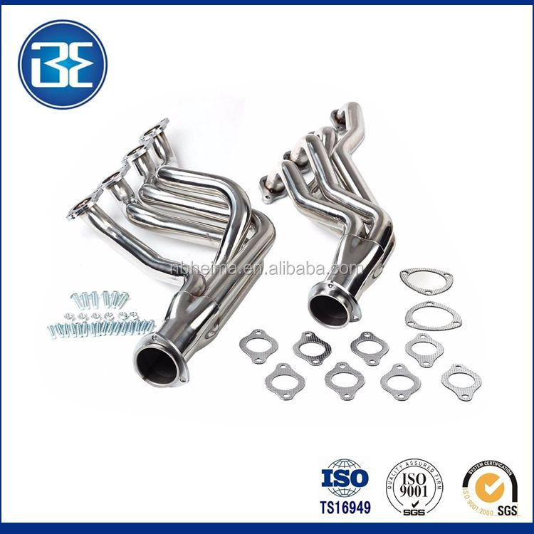 Heavy Duty Exhaust Headers Silver coated Manifold Parts Fit For BBC Chevy 396 427 Chevelle Camaro 68-72