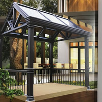 Europe Style Aluminium Wintergarden Sunroon New