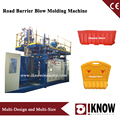 Plastic traffic barrier blow mold making machine