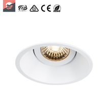 Interior Recessed 9W Customized COB LED Downlight Retrofit Complete Fittings Kit