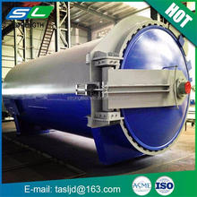Chemical factory used industrial laminated glass steam sterilizer autoclave with best price