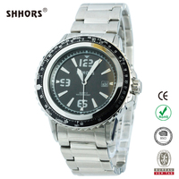 SHHORS luxury wholesale 5ATM waterproof stainless steel watch