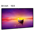low cost 84inch matte white projection screen